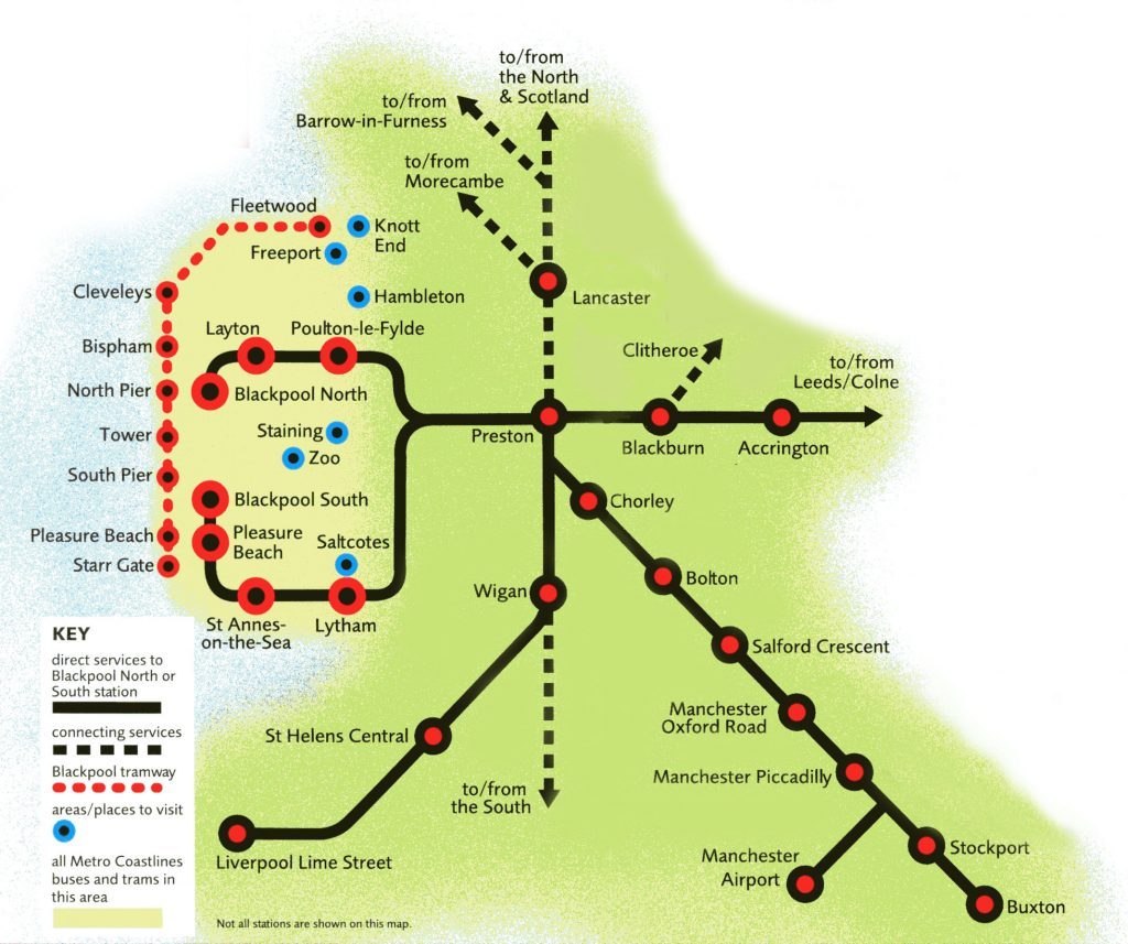 Northern Railway Zone Route Maps