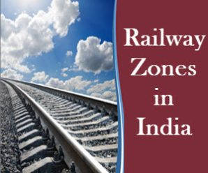Railway Zones in India & its Divisions
