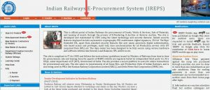Indian Railway Tenders Procurement