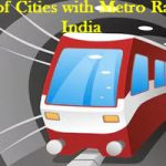 List of Cities with Metro Rail in India