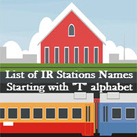 List of IR Stations Names Starting with T alphabet