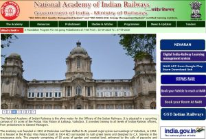 National Academy of Indian Railways, Vadodara