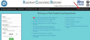 Railway Board Claims website