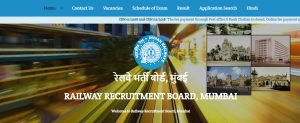 Railway Recruitment Board Mumbai