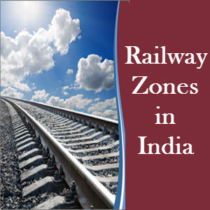 Railway Zones in India