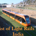 List of Light Rails in India
