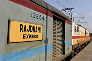List of Rajdhani Trains