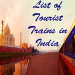 List of Tourist Trains in India