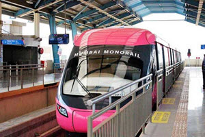 Monorail in Mumbai