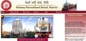 Ranchi Railway Recruitment Board